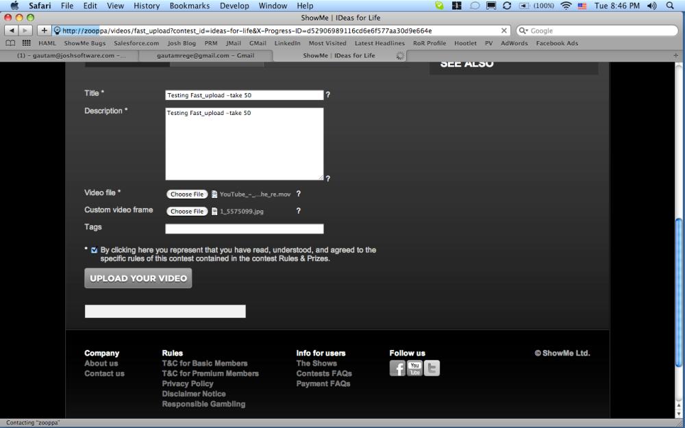 Uploading multiple files with nginx upload module and upload progress bar (1/3)