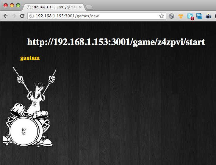 Real-time Games using HTML5, WebSockets, nodejs and socket.io (3/4)