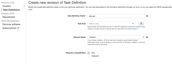 Deploying Service Based Architecture Application on Amazon's ECS
