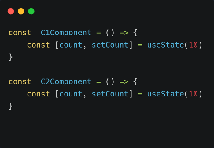 React component with use State